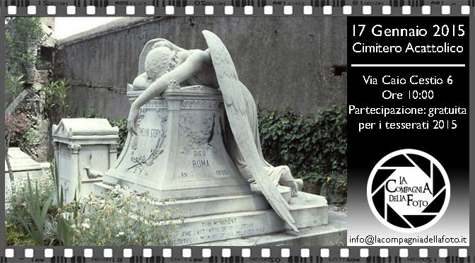 Uscita Fotografica Cimitero Acattolico