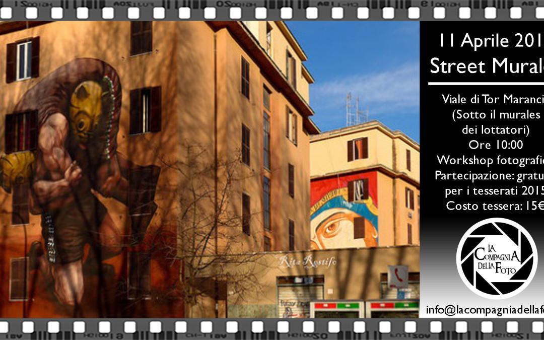 uscita fotografica street murales